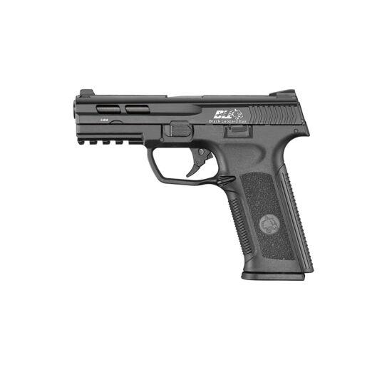 ICS XAE Black Leopard Eye GBB airsoft pisztoly, fekete