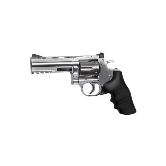 "Dan Wesson 715 4"" airsoft revolver, ezüst"
