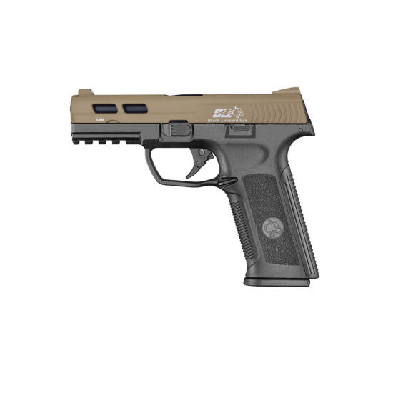 ICS XAE Black Leopard Eye GBB airsoft pisztoly Dual tone