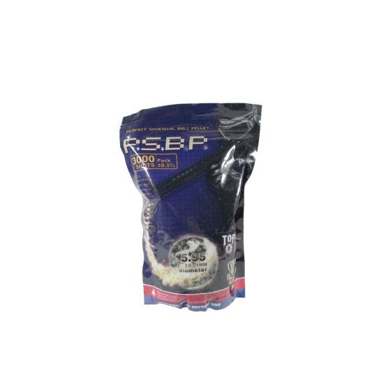 G&G P.S.B.P. precíziós BB 0.25g, 3000 db zöld