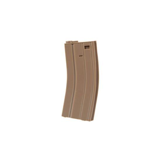 Specna Arms M4/M16 real-cap tár, Tan műanyag 30 BB