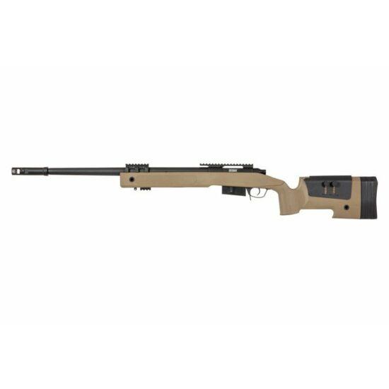 Specna Arms SA-S03 M40A3 airsoft mesterlövész puska tan