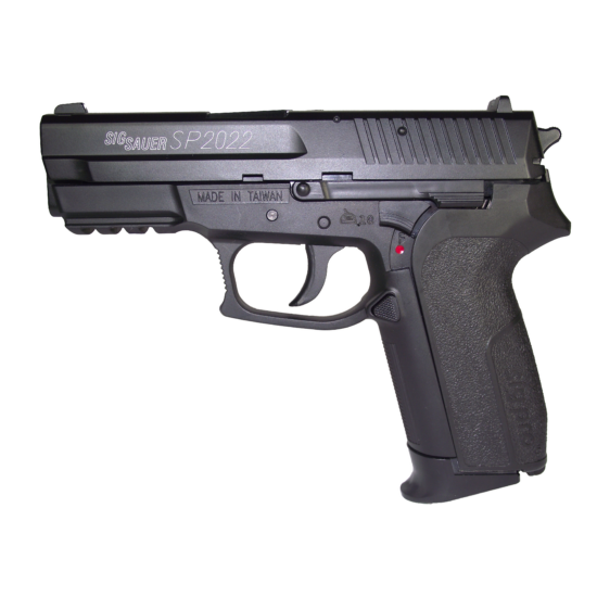 Swiss Arms SP2022 CO2 NBB airsoft pisztoly