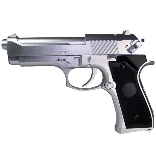 CM126 Beretta airsoft elektromos pisztoly, ezüst