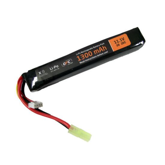 GFC LiPo akkumulátor 11.1V 1300 mAh Tamiya