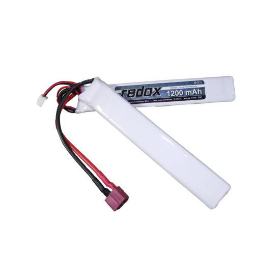 Redox LiPo akkumulátor 7.4V 1200mAh T-deans