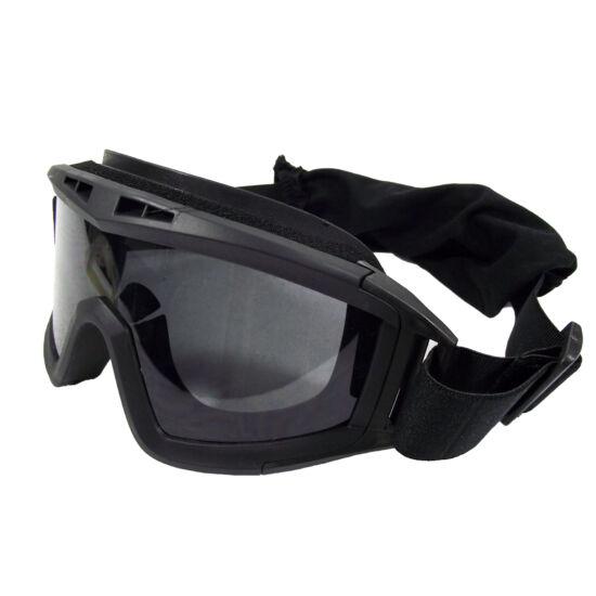 GFC pántos védőszemüveg sisakhoz, három lencsével