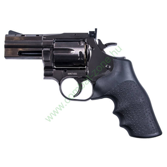 "Dan Wesson 715 2.5"" airsoft revolver, steel grey"