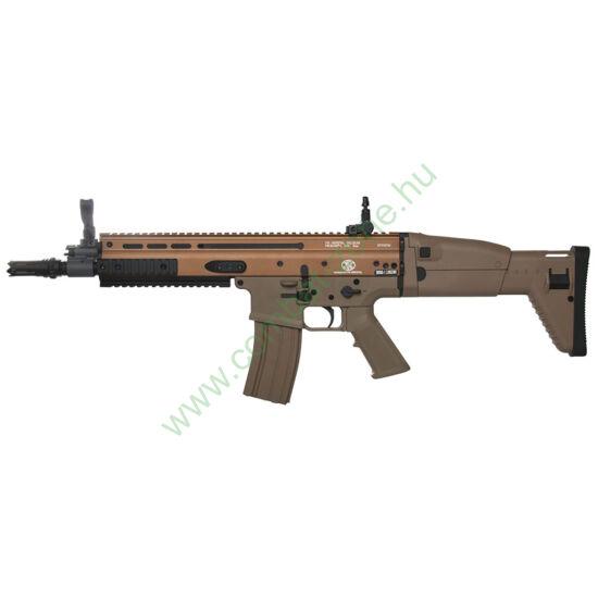 FN-Herstal SCAR Dark Earth airsoft rohampuska