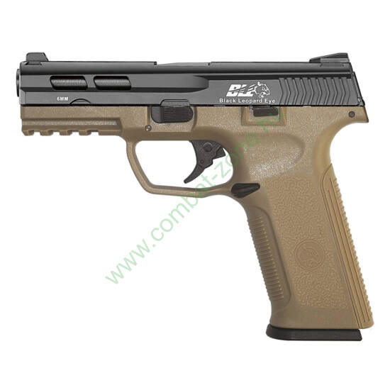 ICS XAE Black Leopard Eye GBB airsoft pisztoly